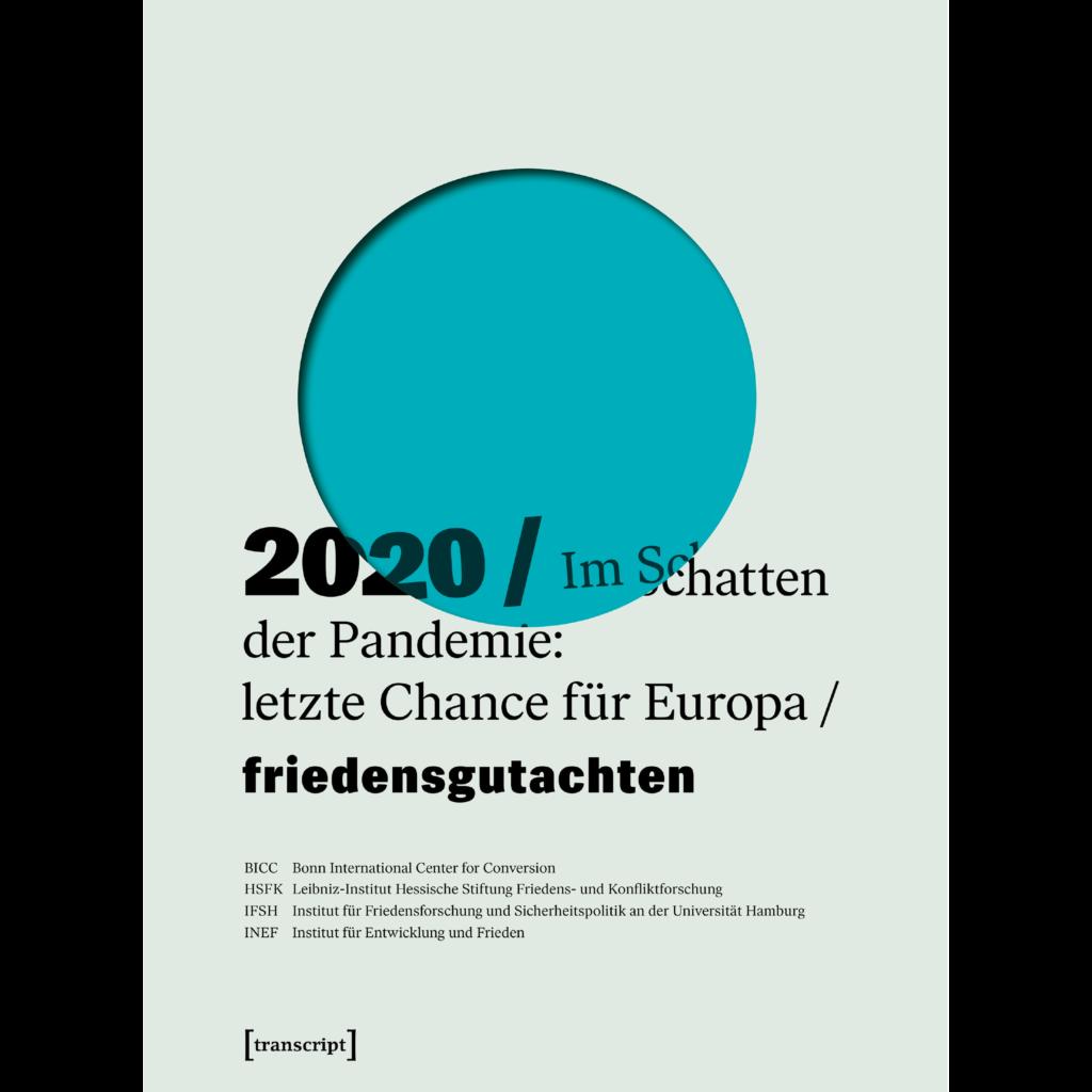 Cover Friedensgutachten 2020