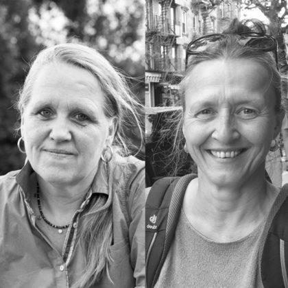 Christa Müller und Andrea Baier